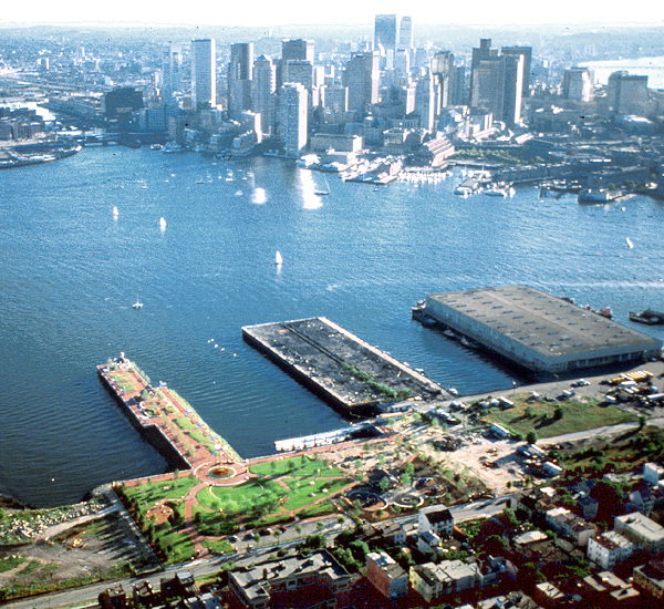 East Boston Piers Master Plan
